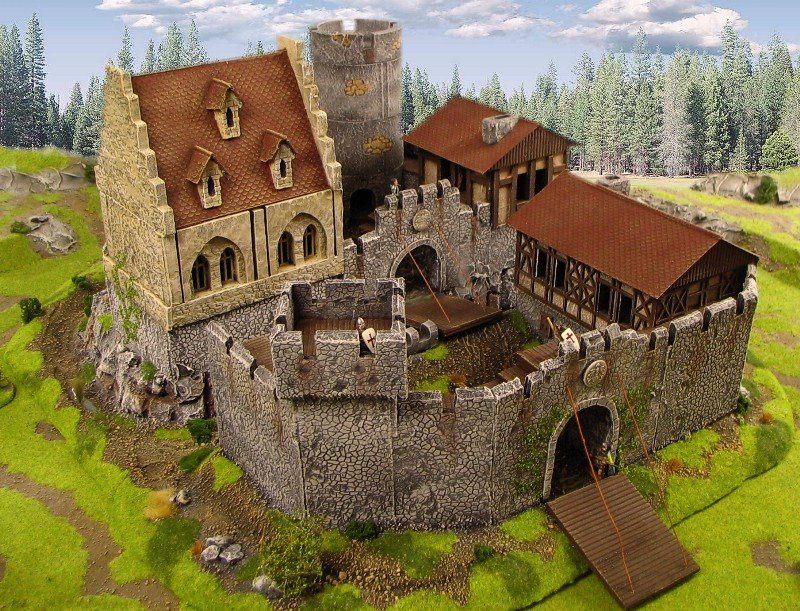 Warhammer fantasy battle tabletop gaming warhammer for Fortified house plans