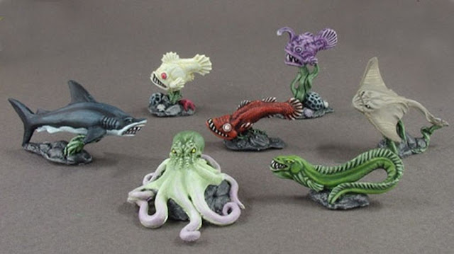 Warhammer sea creatures