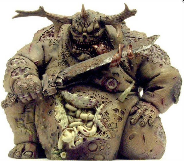 Greater Nurgle Demon miniature image
