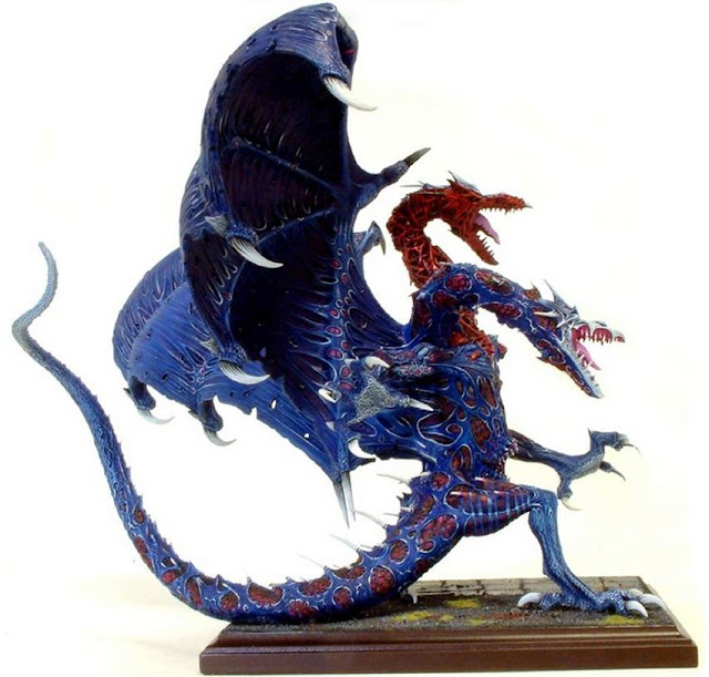 Great Chaos Dragon 2 Headed Miniature image