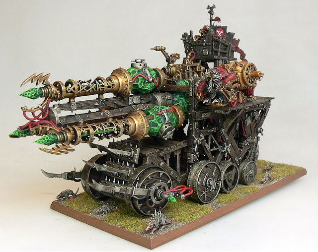 Giant Skaven Warp Lightning cannon