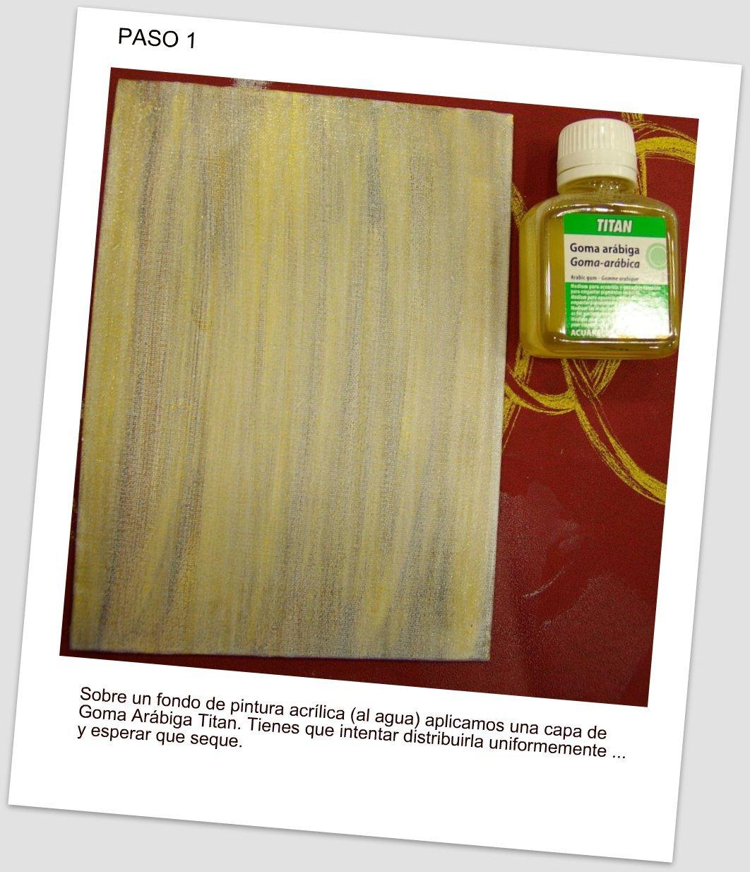 Color pintura blog craquelando - Pintura para craquelar ...