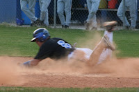 Dillon Creech slides in safe