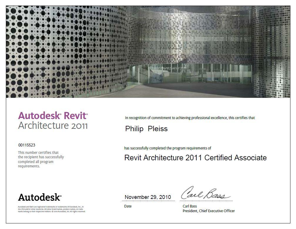 MEP-BIM-Guru: AU 2010 & Autodesk Certification