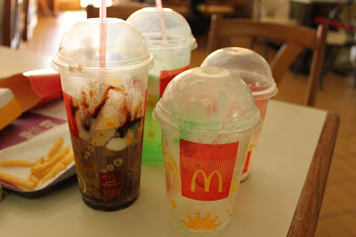 McDonald's Coke Float