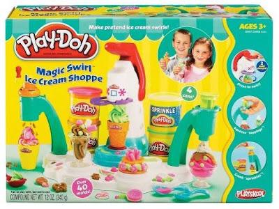 Playdoh Magic Swirl Ice Cream Shoppe