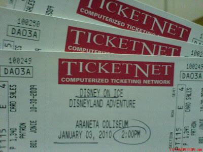 Disney On Ice: Disneyland Adventure Patron Tickets