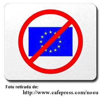 Abaixi a União Eurõpeia, União Soviética do Ocidente; down with EU, urrs