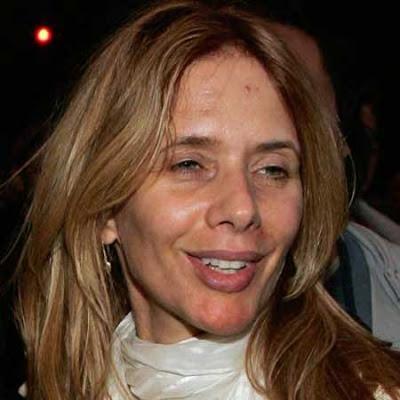 Rosanna Arquette skin care