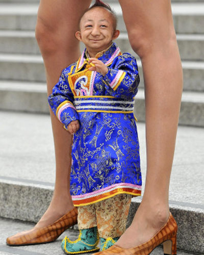Shortest man in the world 2014