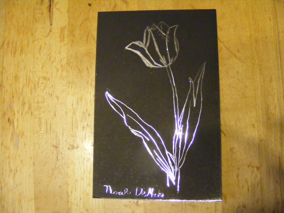 Mothers Day Scratch Art