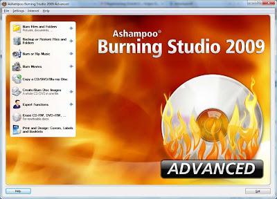 ashampoo burning studio free product key