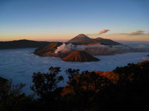 gunung bromo di Jawa Timur