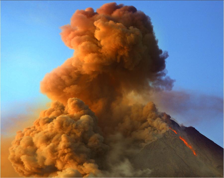 Gambar Gunung Merapi - Ardi La Madi's Blog