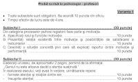 Subiecte titularizare psihologie pagina 1