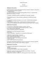 Subiecte titularizare geografie Bucuresti