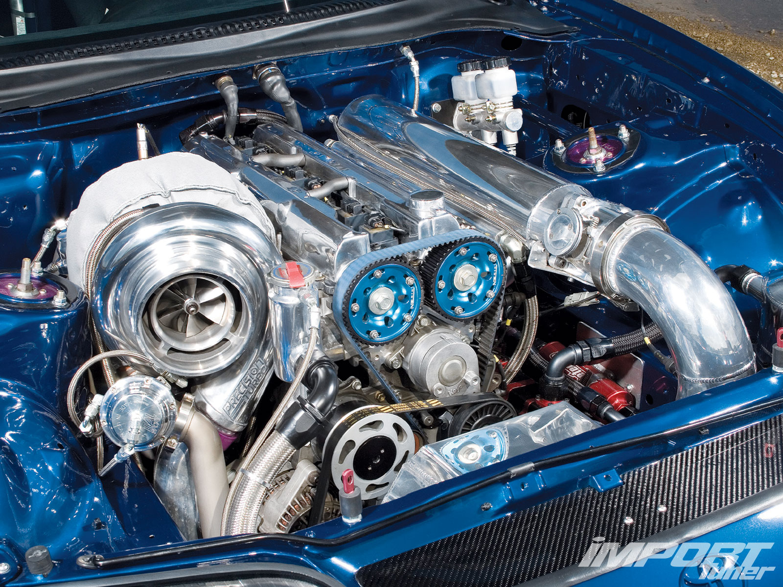 Impp O Toyota Supra Engine View