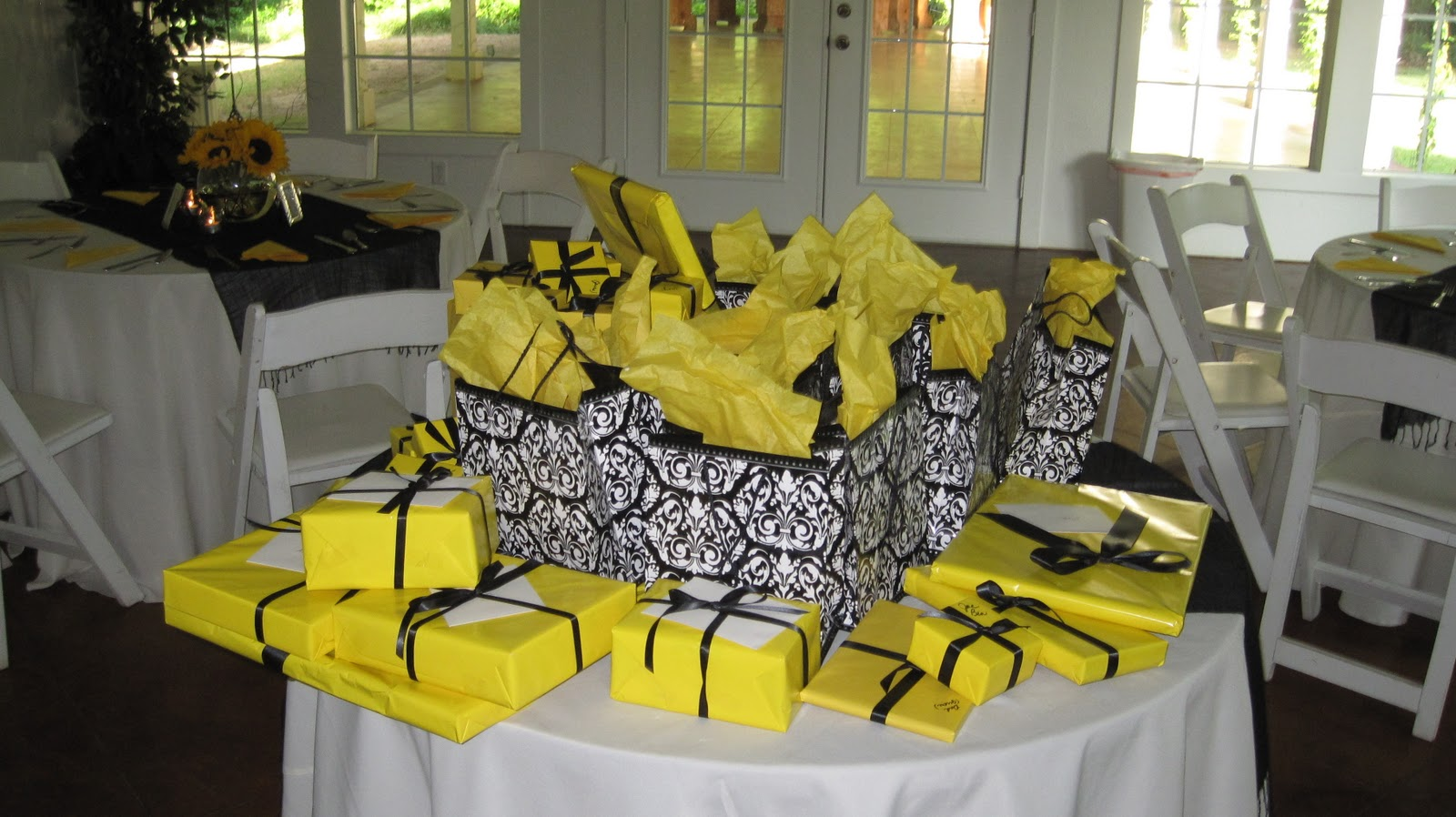 White and Yellow Party Decoration \u2013 Craftbnb