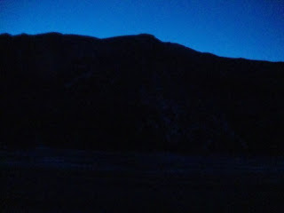 predawn sunrise over the Rocky Mountains