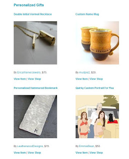 Handcrafted and hammered aluminum bookmark featured in an Etsy Storque article 'Holiday Gift Guide Preview'