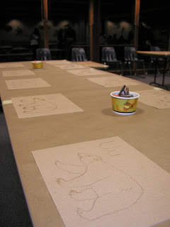 kids craft table