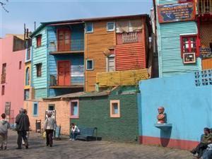 Calle Caminito, La Boca.