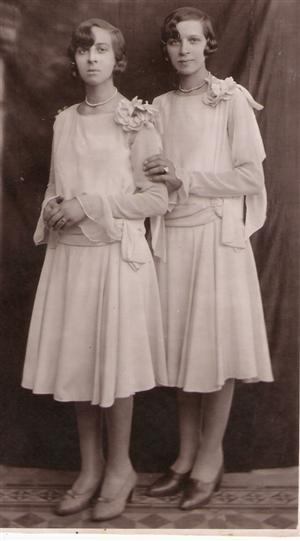 Las hermanas de la abuela...