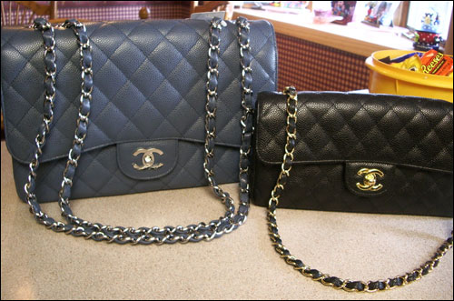 c33cb788eb6c Over the years there have been many variations to the original design of  the 2.55, including the leather/fabric, the chain – metal vs. interwoven  leather, ...