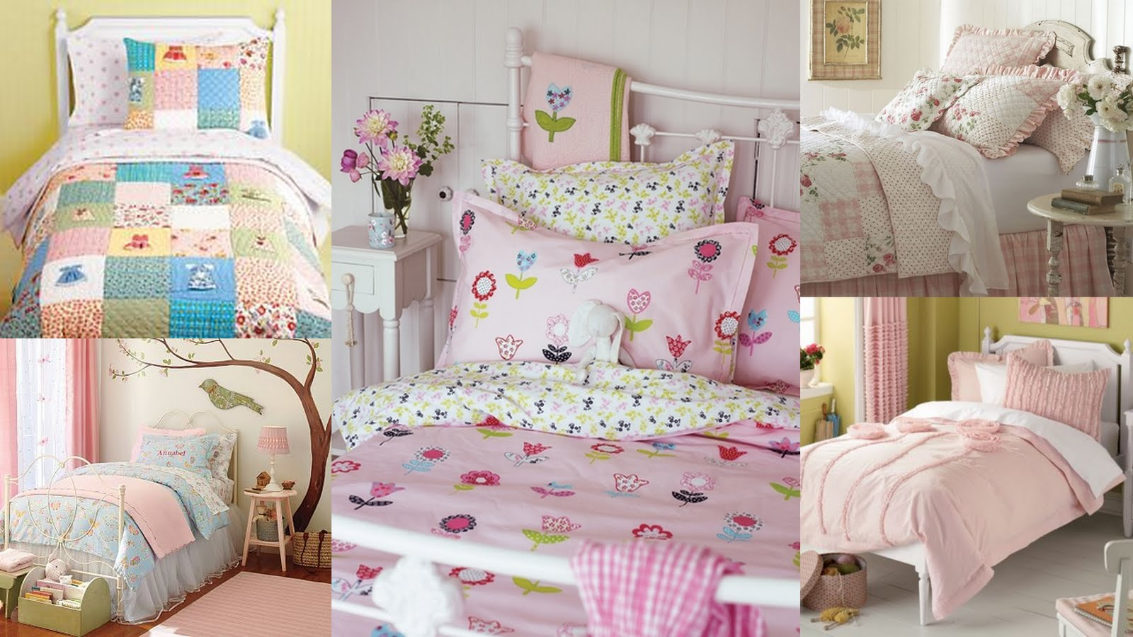 House on Ashwell lane: Bedding to suit your little girl's personality