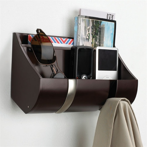 High Quality This Cubby Style Wall Organizer From Umbra Serves As A Convenient Catchall  For These Daily Essentials And More. Designed By William Mak, The Wall  Organizer ...