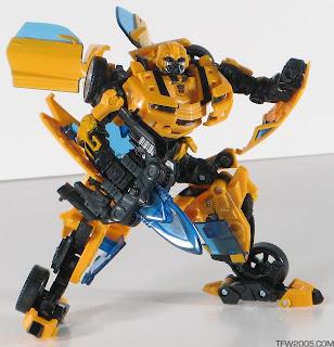 Transformers movie deluxe class bumblebee