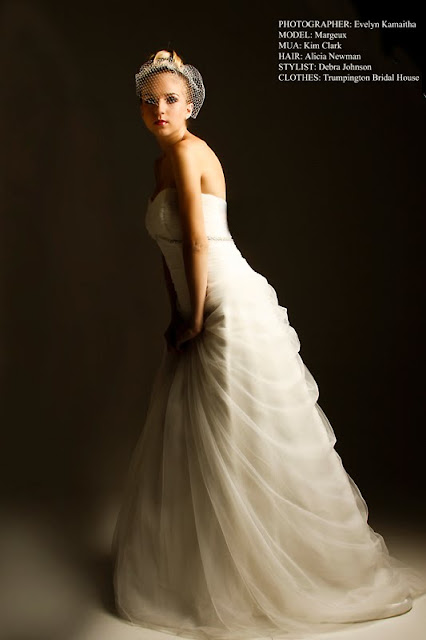 STUDIO BRIDAL SHOOT