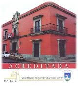 Facultad de Arquitectura ¨5 de Mayo¨