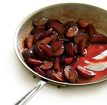 Caramelized Plums