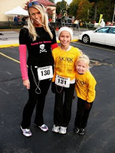 Me n the girls race Morn