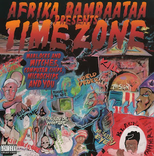 AFRIKA BAMBAATAA presents TIME ZONE - ZULU WAR CHANT (SINGLE 12'') (1993)