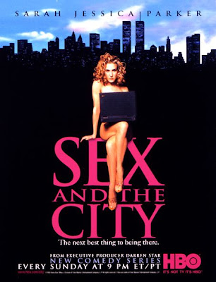 Cartazes de Séries da TV - Sex and the city - Design Innova
