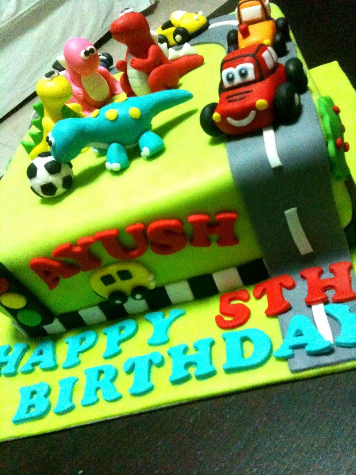 Oven Creations Happy 5th Birthday Ayush