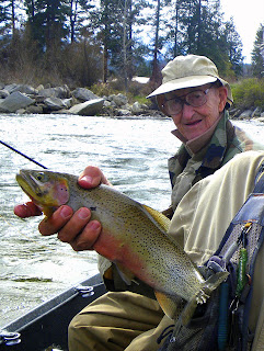 Another Bitterroot River trout for Terry Nobles