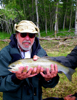 David with a Bitterroot Cutthroat Trout