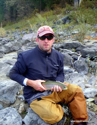 Peter on the Clark Fork