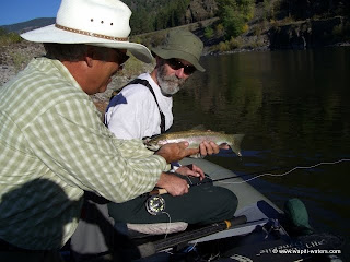 Fly Fishing the Clark Fork River with Paul and Tom