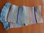 Детски шал от остатъци