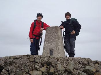 Ben nevis summit. 3rd sep 2010
