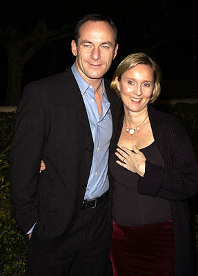 Jason Isaacs and Emma Hewitt, m...