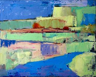 Ocean at Montauk Point by Will Wieber