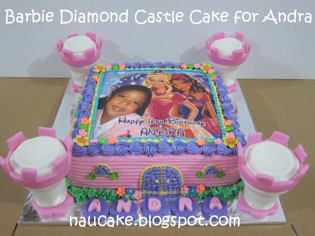 Barbie Castle Cake Images : Nau Cake: Barbie Diamond Castle Cake for Andra
