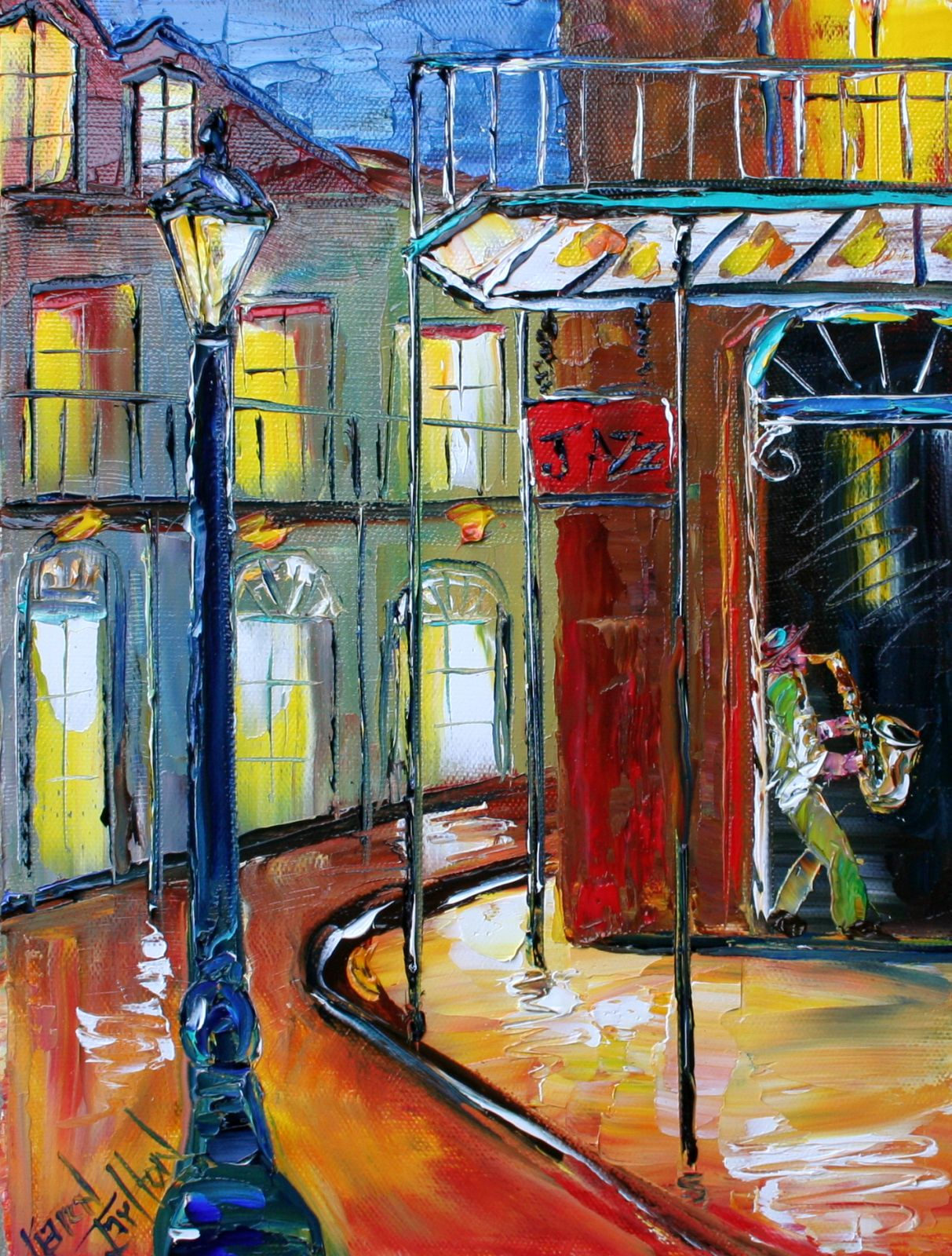 New Orleans French Quarter Paintings