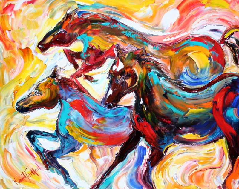 Horse Wall Art amp Canvas Prints  Horse Panoramic Photos