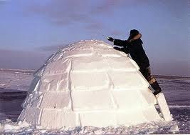 Inuit Indians Homes http://loremipsum10.blogspot.com/2010/12/building-igloo.html